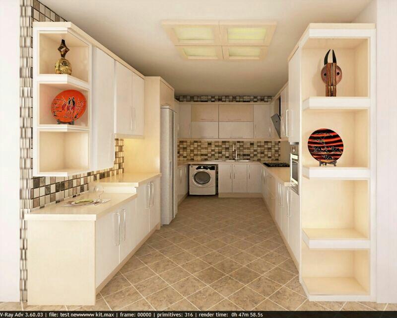کابینت برای آشپزخانه های کوچک