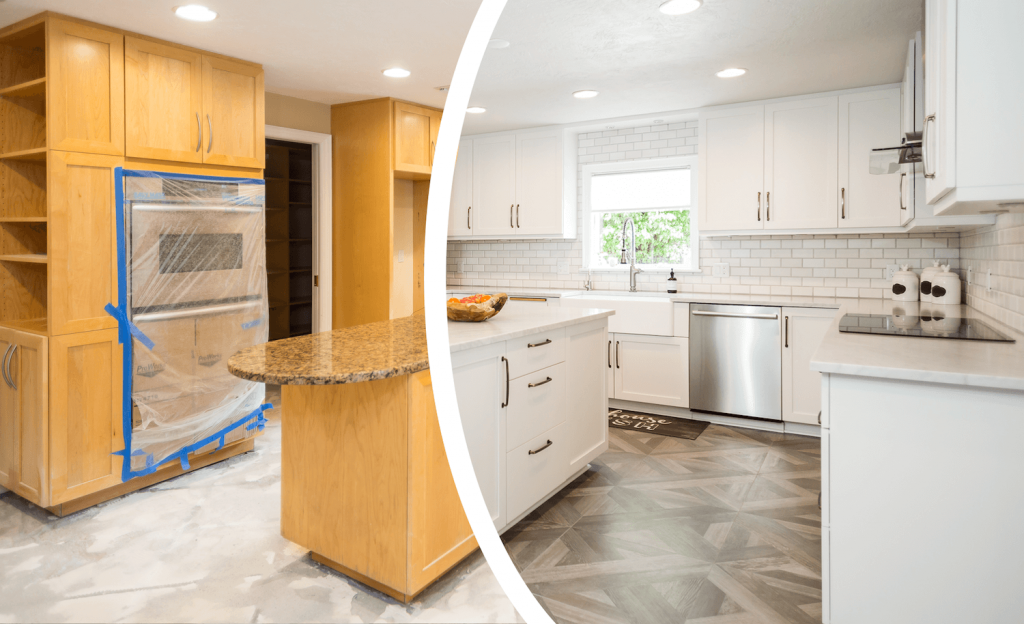 راهکار های جالب و ارزان برای بازسازی کابینت آشپزخانه